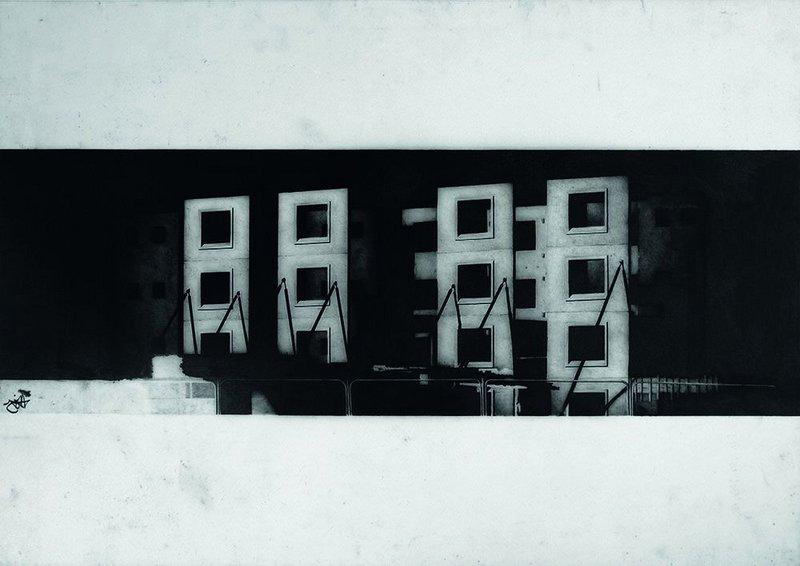 Gibb's unsettling 'Empty Windows'.