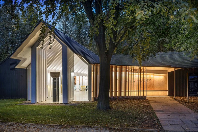 Rievaulx Abbey visitor centre and museum, Rievaulx, by Simpson and Brown.
