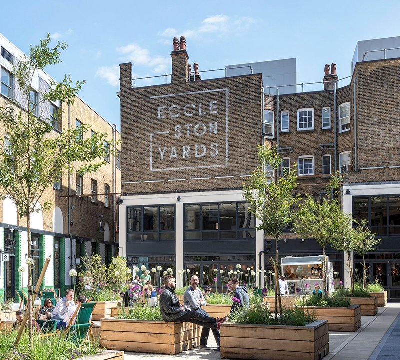 Ecclestone Yard by Buckley Gray Yeoman was one of the projects making the awards shortlist in South London.
