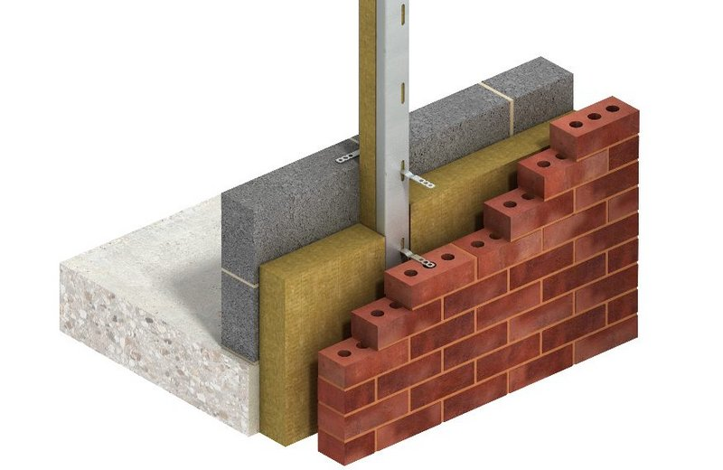 Leviat's Ancon Thermal Windpost is designed to add thermally efficient lateral support to cavity walls where wind loads are high or the span between primary structural members is large.