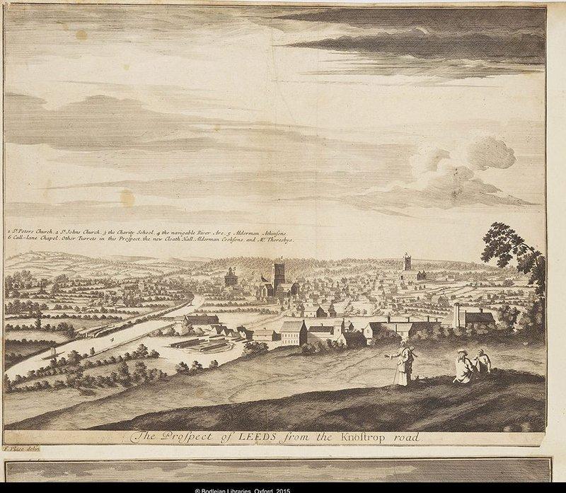 Leeds 1712, Gough Maps 34 fol 25Ba, Bodleian Library, University of Oxford.