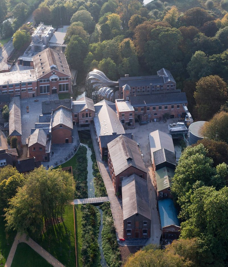 Bombay Sapphire Distillery – a complex reworking of a historic industrial site.