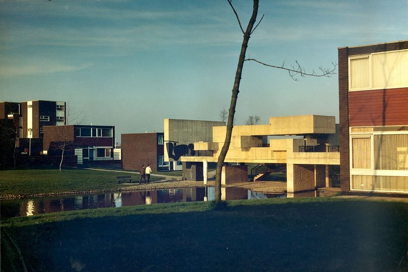 Apollo Pavilion, by Victor Pasmore, on the Sunny Blunts Estate, Peterlee.