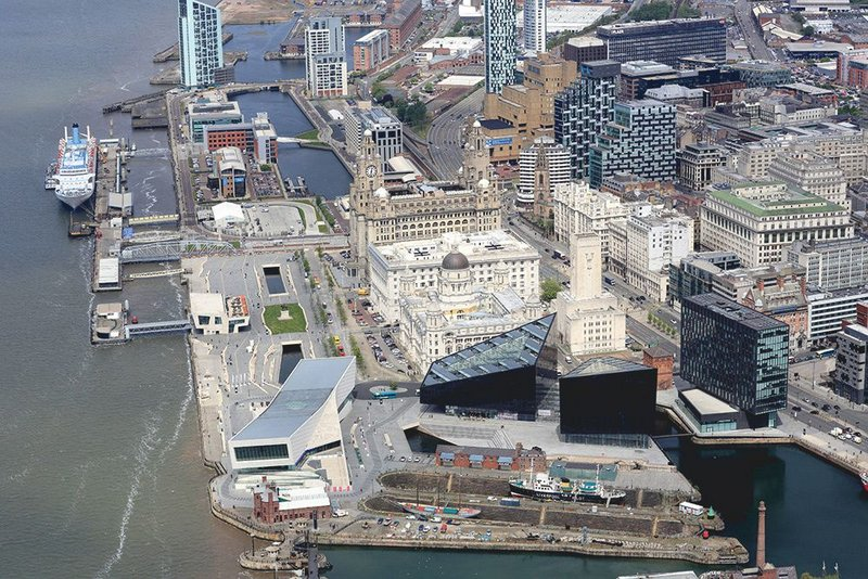 Mann Island, the hub of the International Festival of Business and home next year to RIBA North.
