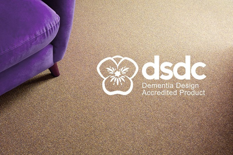 Danfloor's Equinox, Tones, Evolve and Economix carpet ranges have received Dementia Design Product Accreditation from the University of Stirling's Dementia Services Development Centre.