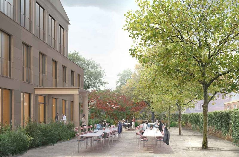 New Student Centre, Downing College, Cambridge by Caruso St John