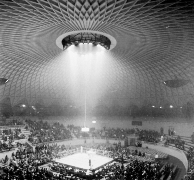 Il Palazzetto dello Sport, Rome; Pierluigi Nervi, 1956-7