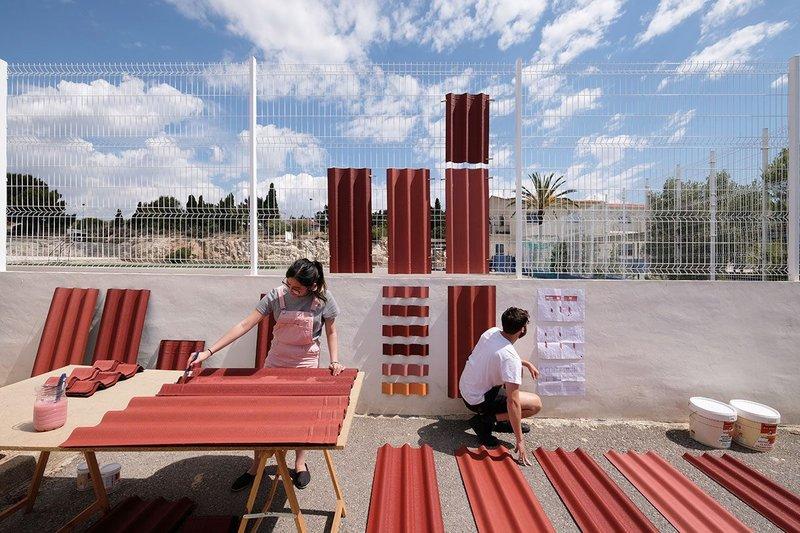 La Falda school by EBBA-Architects.
