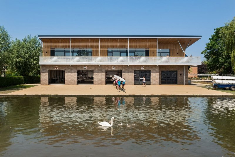Combined Colleges Boathouse Cambridge