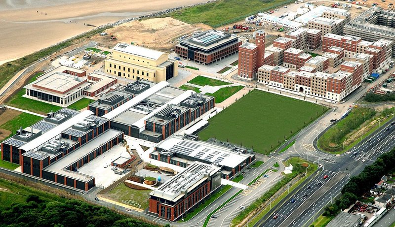 Bay Campus, Swansea University.