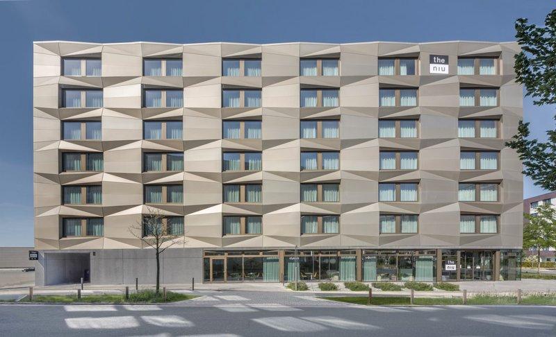 The Niu hotel in Bremen. Architects Westphal Architekten.