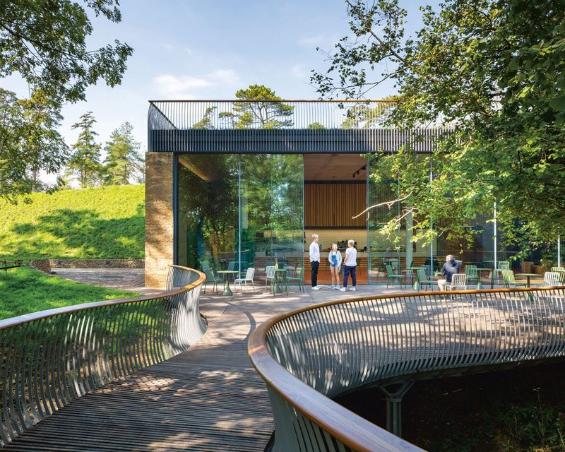 Stonewood's new museum of the garden in the extensive estate and gardens of The Newt in Somerset.