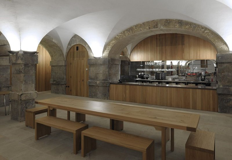 The judges felt this project made intelligent use of the previously neglected crypt of Hawksmoor's Grade I listed church.