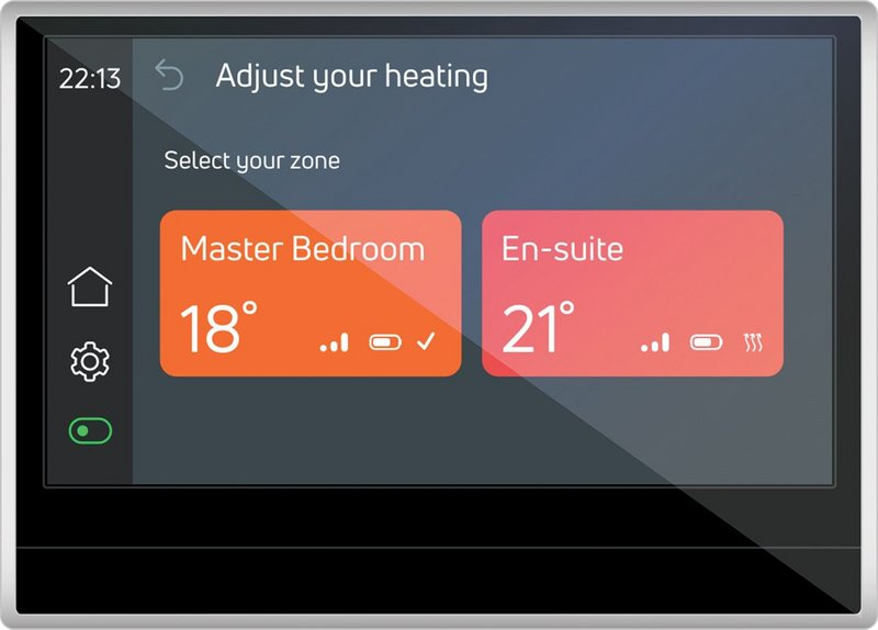 Omnie's new smart thermostat system.