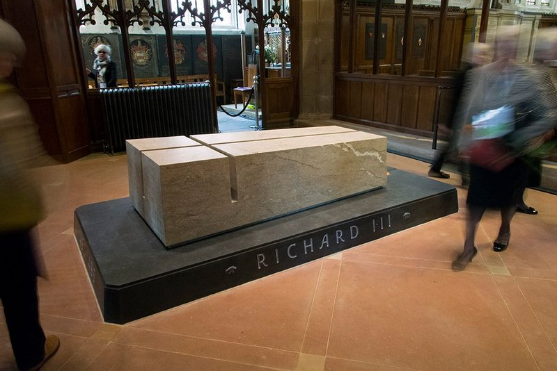 Richard III Project 'With Dignity and Honour', Leicester,