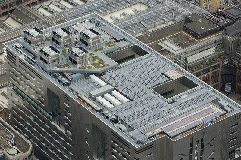 Hot melt was right for the complex roof at UBS' Broadgate HQ.