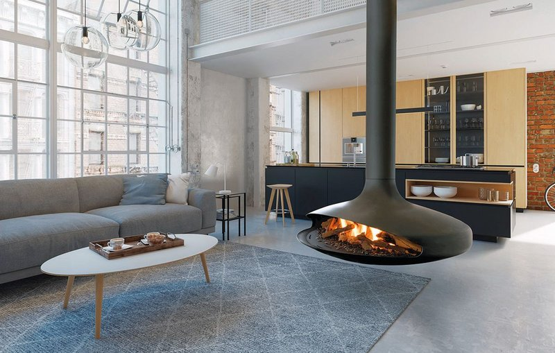 The Focus Gas Gyrofocus: Retaining all the design elements of the original - open, suspended and pivoting - with an added technological feat: gas power.
