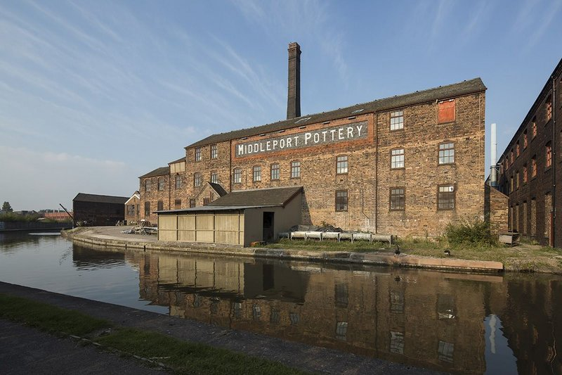 Middleport Pottery, Burslem, Stoke-on-Trent. Feilden Clegg Bradley Studios for The Prince's Regeneration Trust. Click on the image to read more.