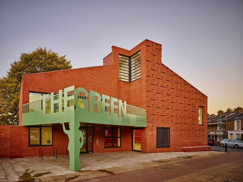 The Green community centre, Nunhead, London by AOC Architecture