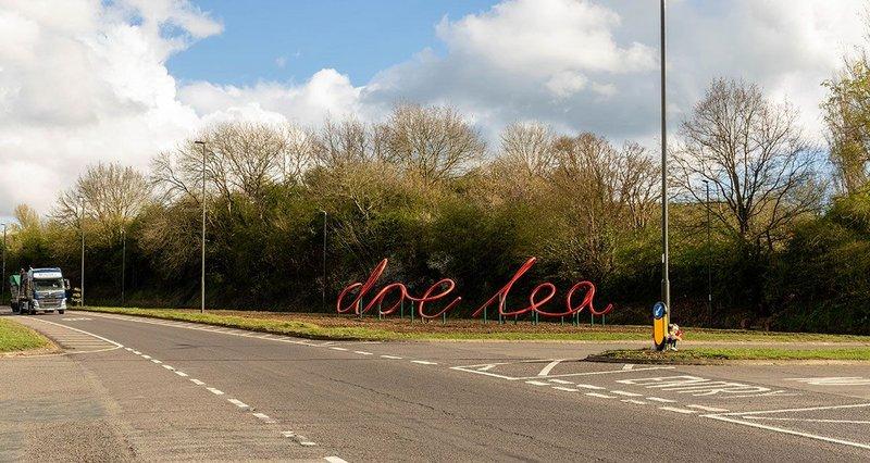 Dancing Flowers of Doe Lea, Derbyshire