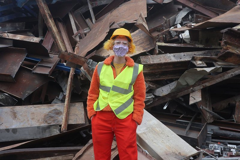 Urban Mined, an exhibition about 'harvesting' demolition materials.