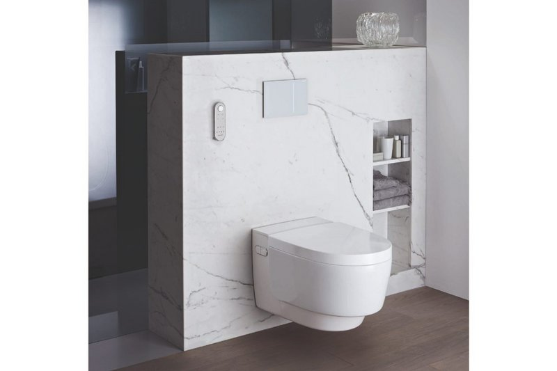 Geberit AquaClean shower toilet.