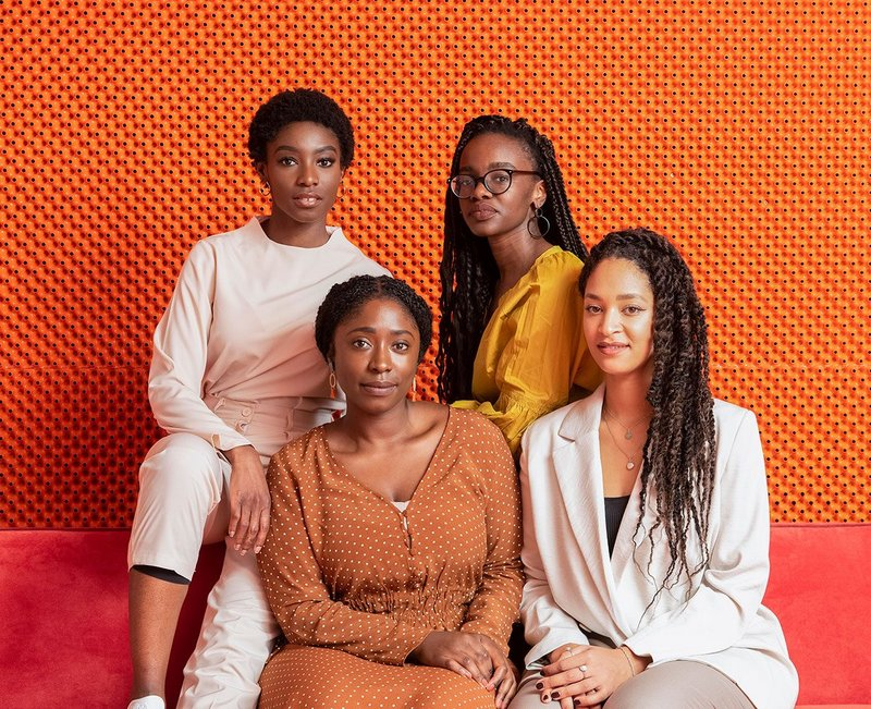 BFA works for pride, not prejudice, for black women architects   Clockwise from top left: Selasi Setufe, Alisha Morenike Fisher, Neba Sere and Akua Danso. Shot at Second Home.