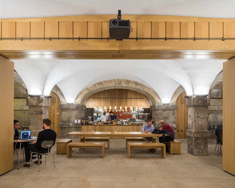 Christ Church Crypt café.