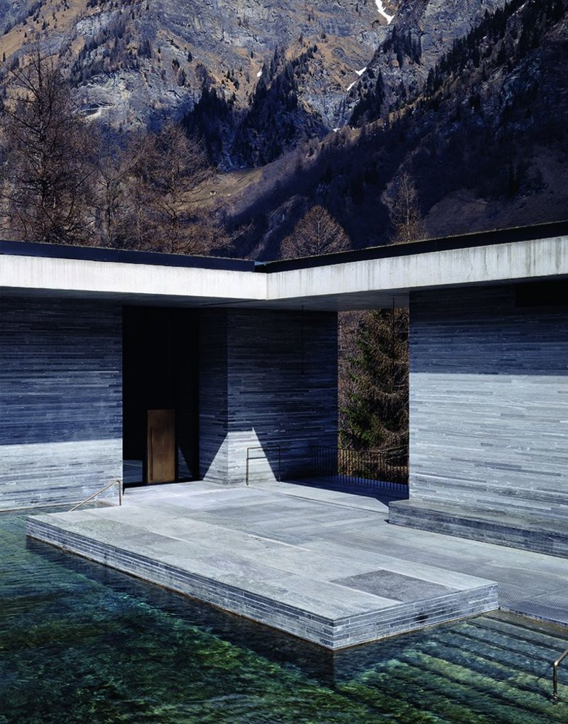 Luxurious restraint in the Thermal Baths at Vals, Switzerland.