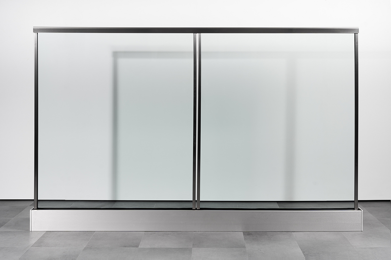 The new fire-rated balcony balustrade achieves 0.74kN/m line loads for residential use.
