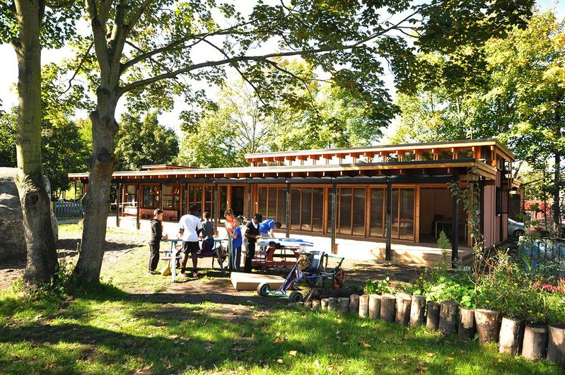 Last year's MacEwen winner, the repurposed Segal-method building of Oasis Children's Venture, Stockwell, South London.