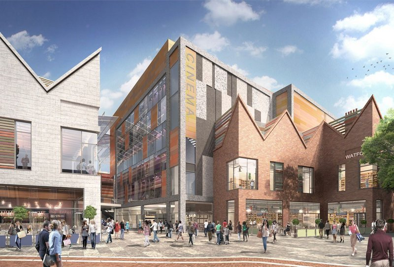 Charter Place Watford visualisation. Credit: Leslie Jones Architects