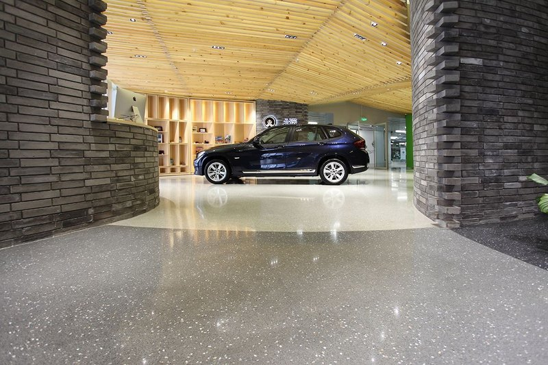 Flowcrete flooring at BMW Brilliance Shanghai