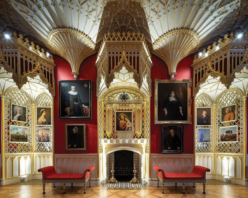 The Gallery, created between 1761 and 1763 as a space to entertain and display pictures.