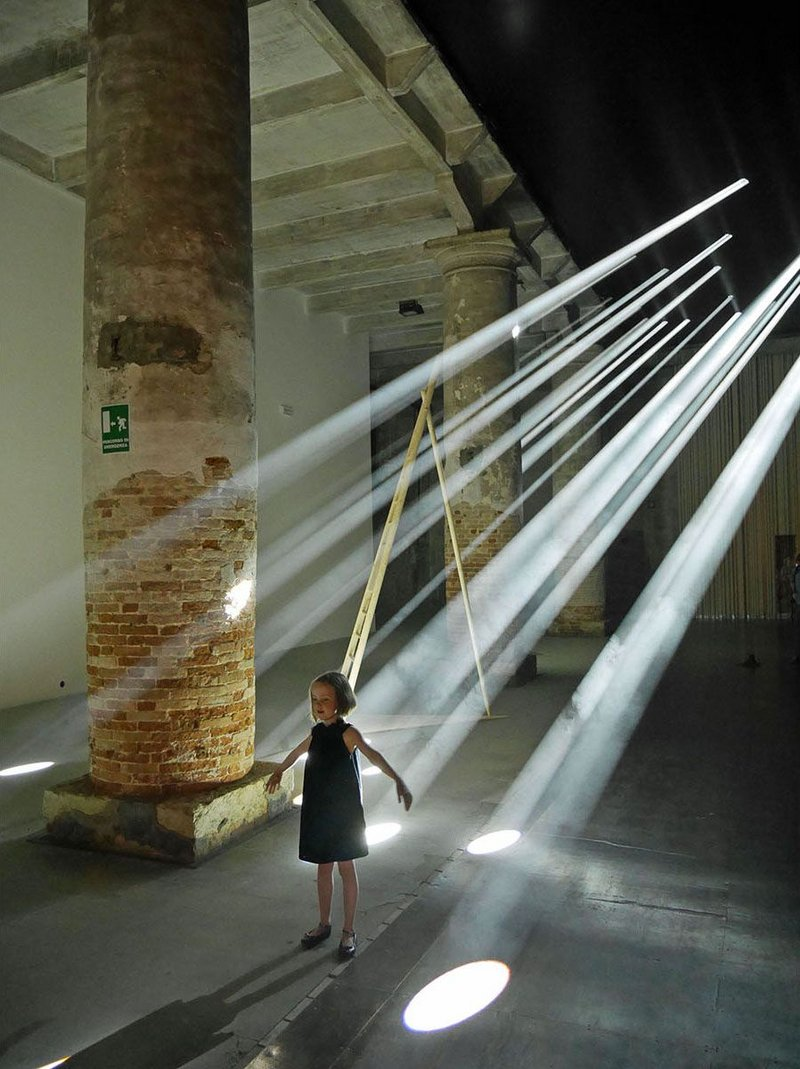 Everyone loves Jean Nouvel's super-intense light show in the Arsenale.