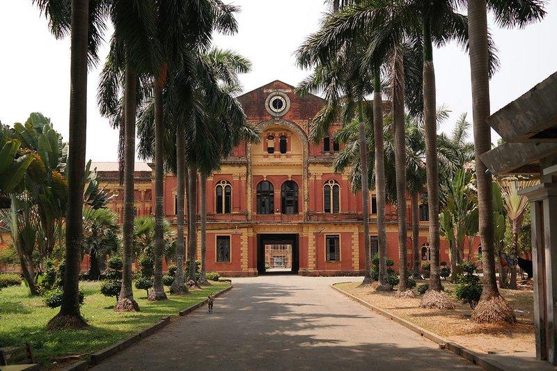 Secretariat complex, Yangon.
