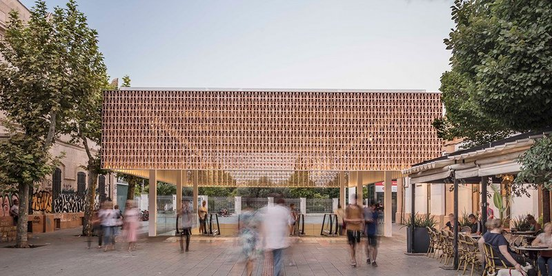 The new entrance to Palma's intermodal station was winner of the Architecture category. By Joan Miquel Seguí Colomar.