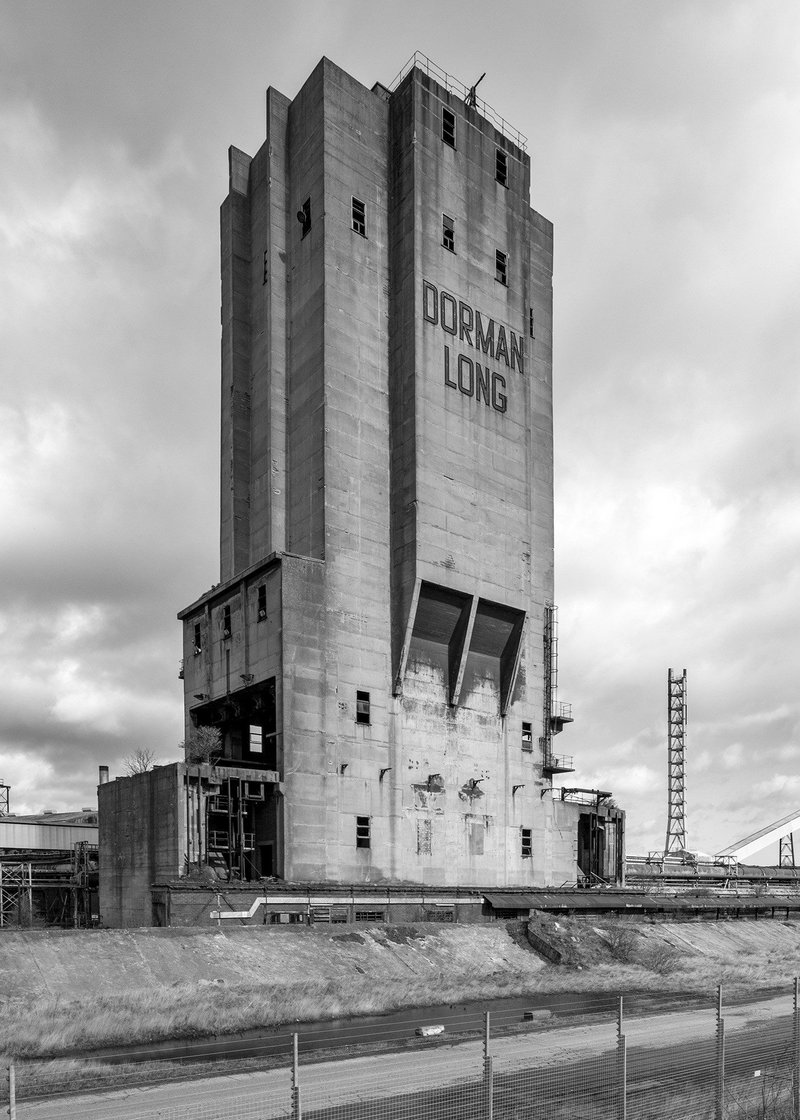Dorman Long tower, Teesside, demolished by controlled explosion within days of the listing being reversed.