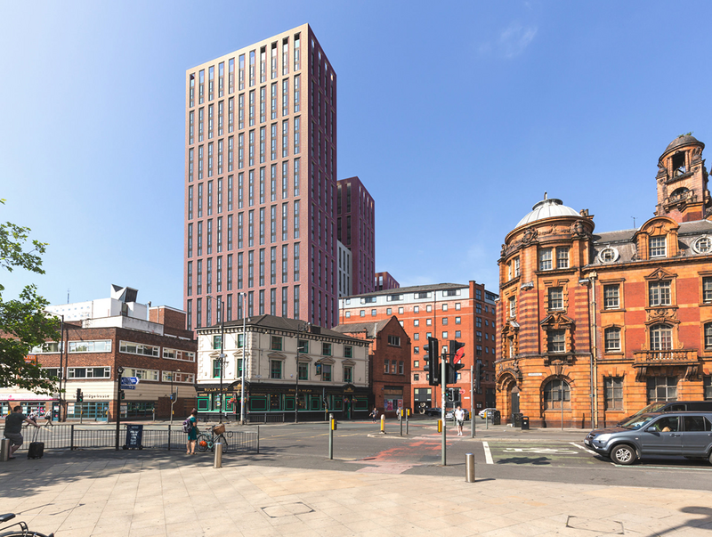 The proposed Echo Street co-living development in Manchester now has planning permission.