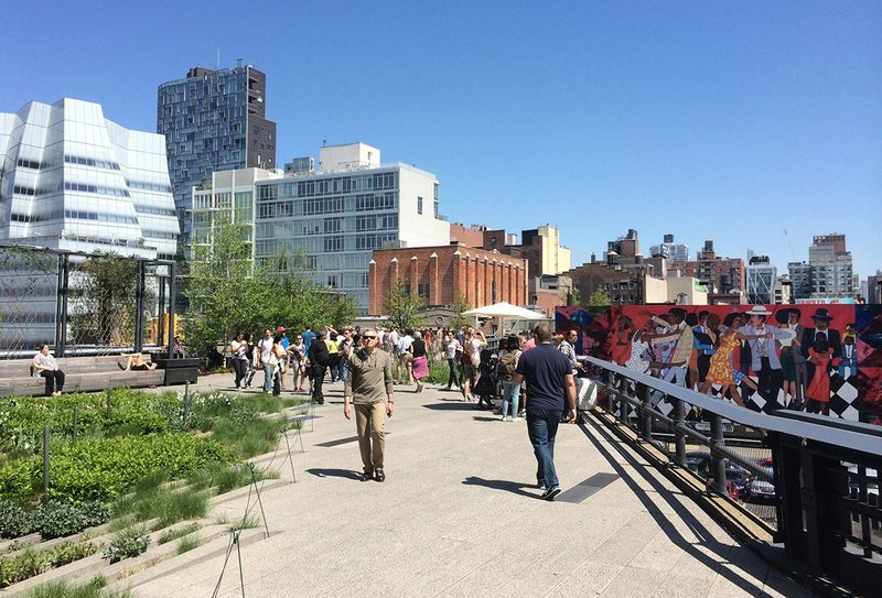 Gentirfication has followed the High Line.