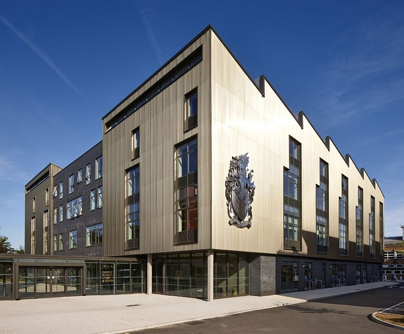 Cardiff School of Art and Design, Cardiff Metropolitan University – Austin-Smith:Lord. Click on the image