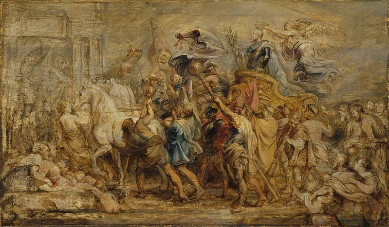 Peter Paul Rubens, The Triumph of Henri IV, 1630.
