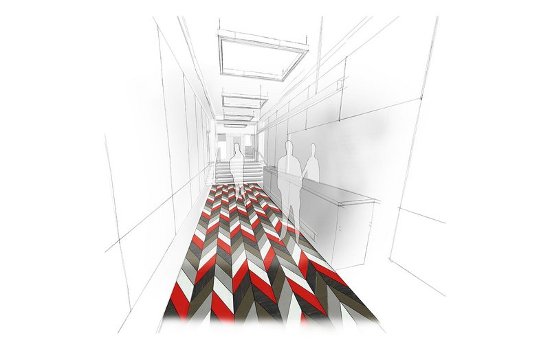 Visualisation of the Barbershop pattern in use.