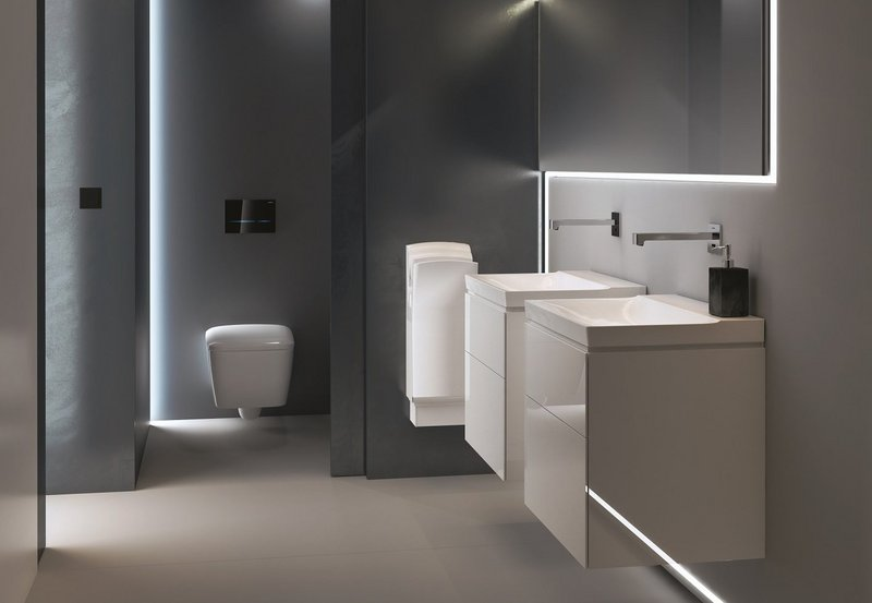 The bathrooms of tomorrow can be about soothing and cocooning as well as functional practicalities.