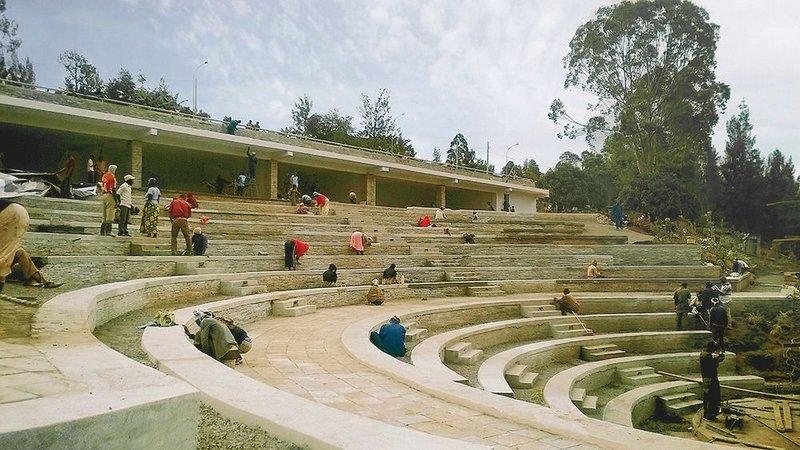 Kigali amphitheatre
