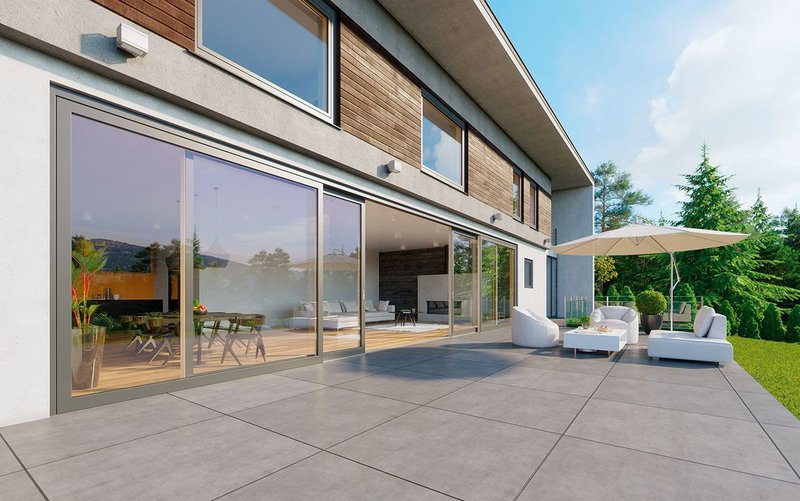 Innoview windows and doors can be ordered in widths of up to 12m and in bespoke sizes.