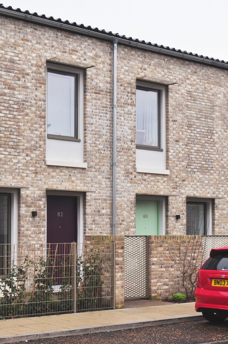RIBA Stirling Prize-winning social housing development Goldsmiths Street in Norwich was built to Passivhaus standards.