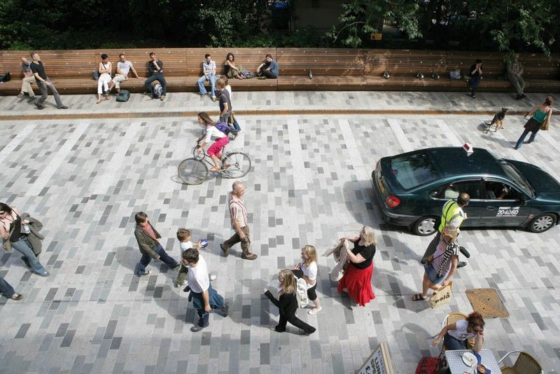 Designing a people-focused street at New Road, Brighton.