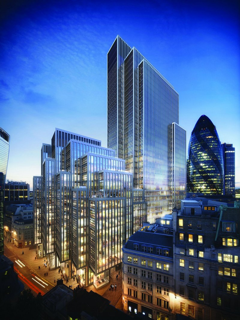 Leadenhall leviathan: the 'Toast Rack' holds some sizeable slices.