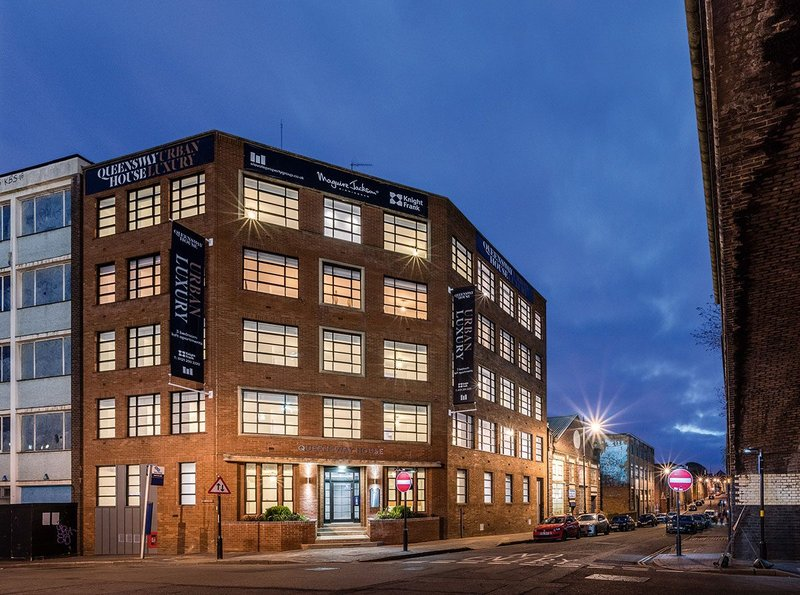 D5 Architects' Queensway House on the edge of Birmingham's Jewellery Quarter for developer Elevate.